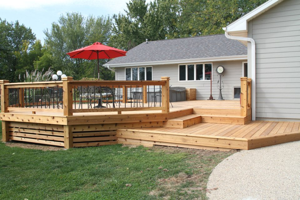 Cedar Deck - Completed 2012